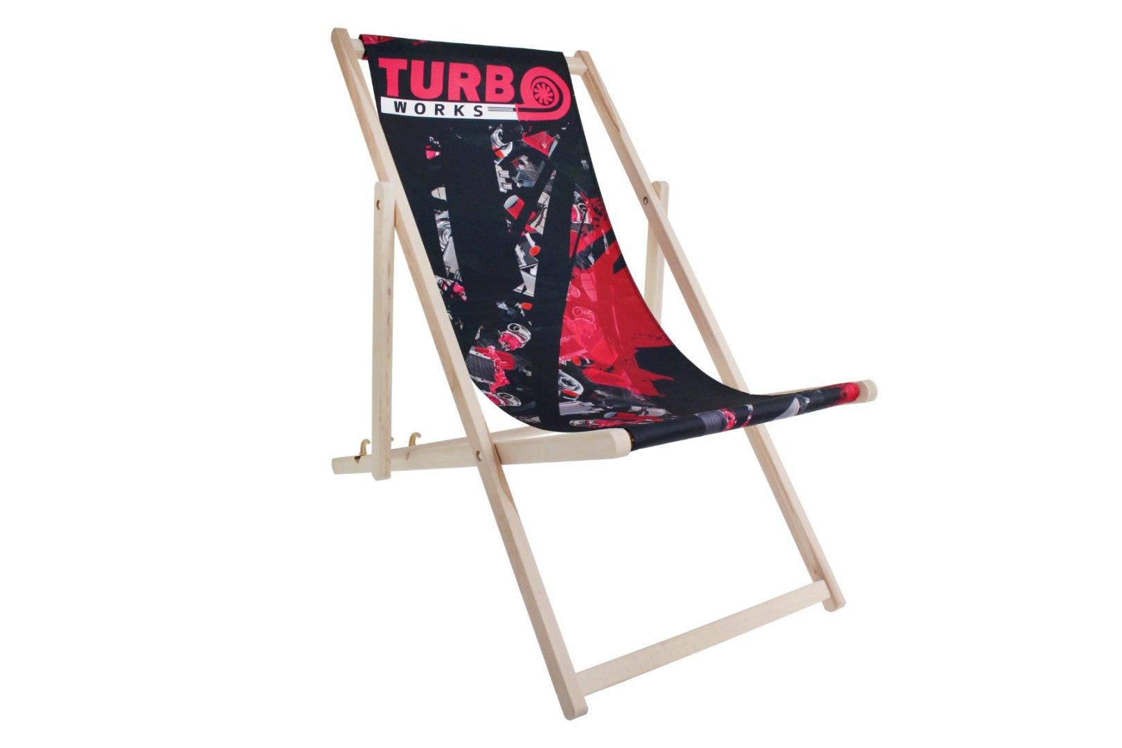 Leżak TurboWorks bez podłokietników - GRUBYGARAGE - Sklep Tuningowy